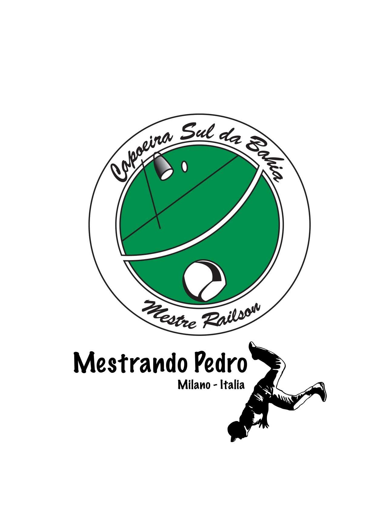 Capoeira Sul da Bahia Logo